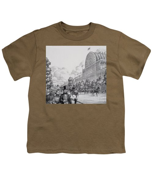 Crystal Palace Youth T-Shirt by Pat Nicolle