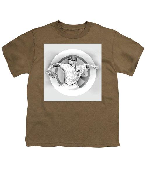 Cubs 2016 Youth T-Shirt by Greg Joens