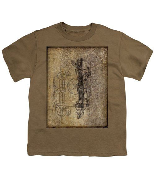 Dads Clarinet Youth T-Shirt