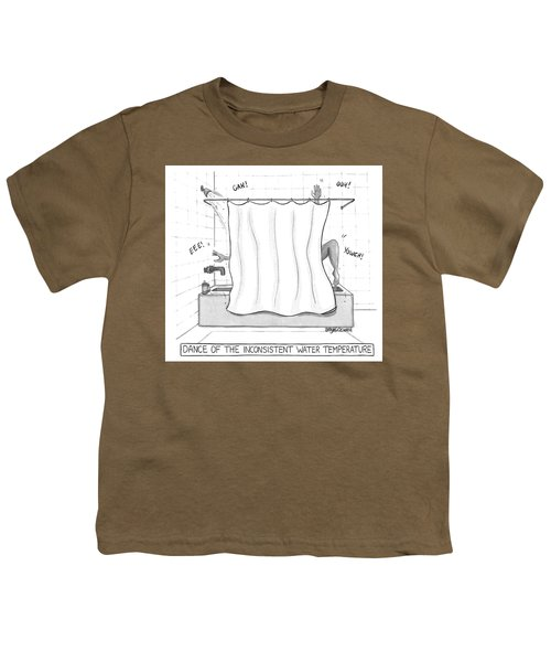Dance Of The Inconsistent Water Temperature  Youth T-Shirt