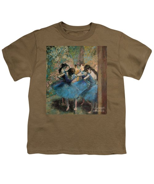 Dancers In Blue Youth T-Shirt
