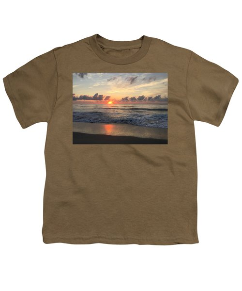 Daybreak At Cocoa Beach Youth T-Shirt