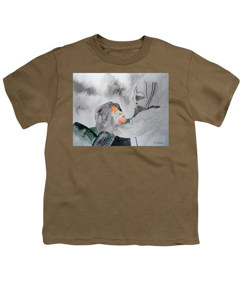 Dean Deleo - Stone Temple Pilots - Music Inspiration Series Youth T-Shirt by Carol Crisafi