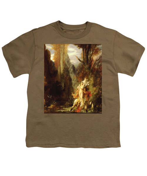 Dejanira  Autumn Youth T-Shirt by Gustave Moreau