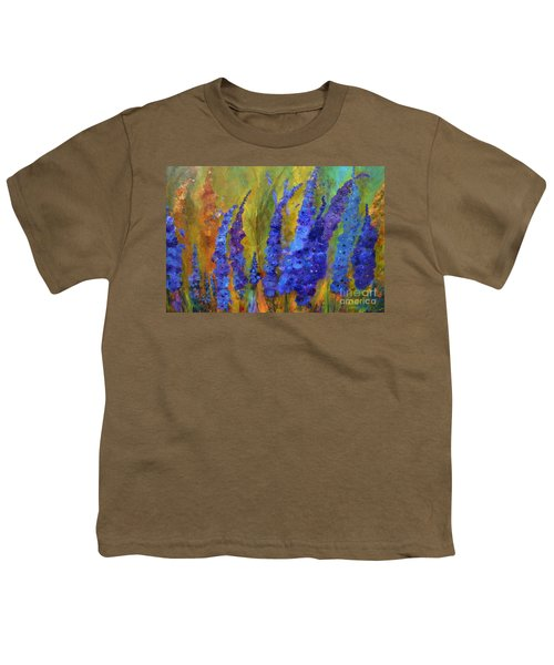 Delphiniums Youth T-Shirt