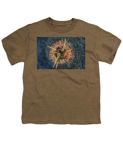 Desert Big Bang Youth T-Shirt by Lynn Geoffroy