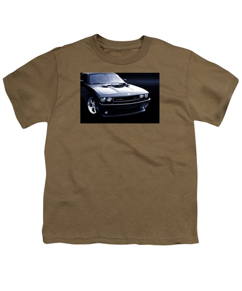 Dodge Challenger Blackbird Sr-71 Youth T-Shirt