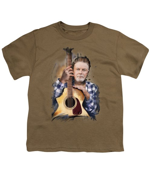 Don Henley Youth T-Shirt by Melanie D