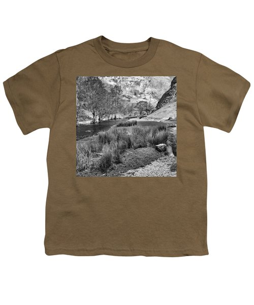 Dovedale, Peak District Uk Youth T-Shirt by John Edwards
