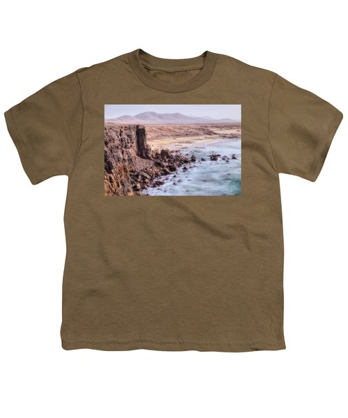 El Cotillo - Fuerteventura Youth T-Shirt by Joana Kruse