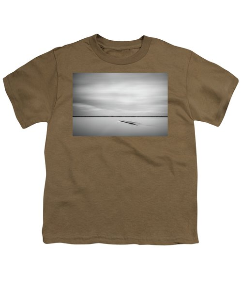 Ethereal Long Exposure Of A Pier In The Lake Youth T-Shirt