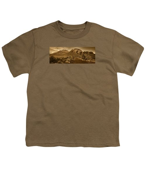 Evening At Dry Creek Vista Tnt Youth T-Shirt
