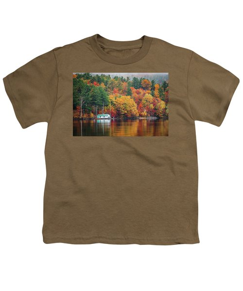 Fall On Lake Winnipesaukee Youth T-Shirt