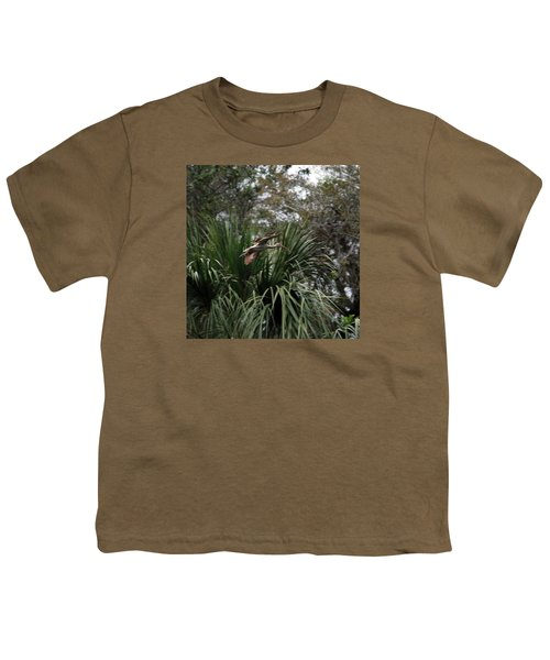 Feather 8-10 Youth T-Shirt by Skip Willits