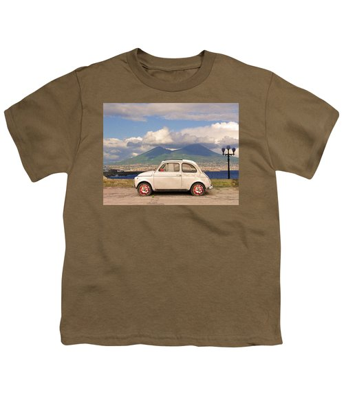 Fiat 500 Pizza Youth T-Shirt