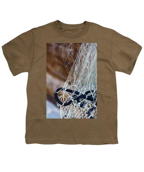Fishing Net Details - Rovinj, Croatia Youth T-Shirt