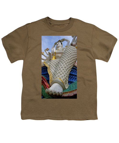 Foot Of Buddha Youth T-Shirt