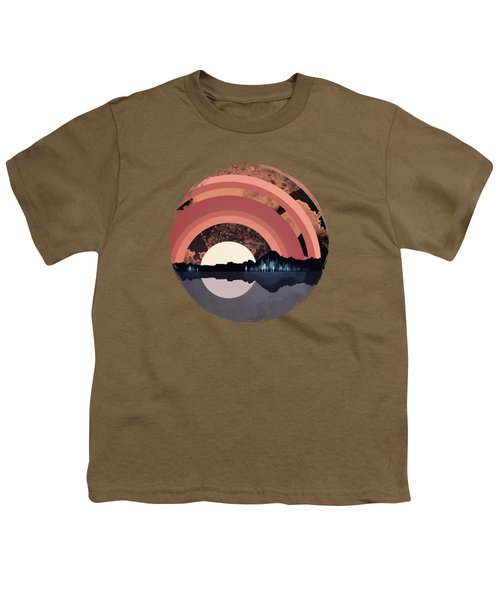 Forest Night Reflection Youth T-Shirt