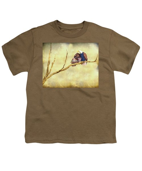 Youth T-Shirt featuring the photograph Freedom by James BO Insogna