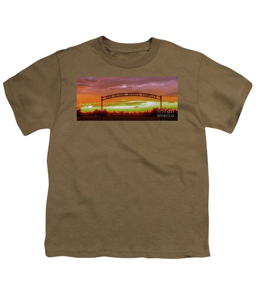 Gem Island Sports Complex Youth T-Shirt by Robert Bales