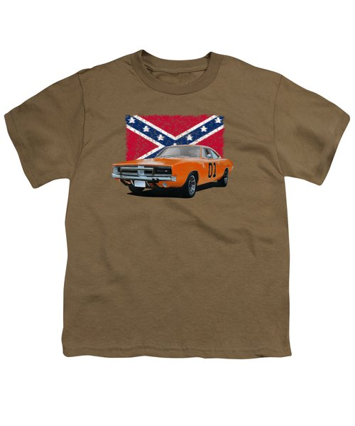 General Lee Rebel Youth T-Shirt