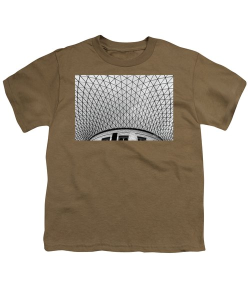 Youth T-Shirt featuring the photograph Glass Ceiling by MGL Meiklejohn Graphics Licensing