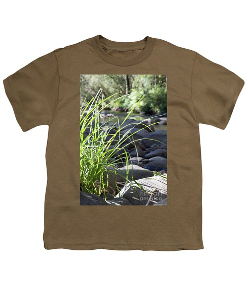 Youth T-Shirt featuring the photograph Glistening In The Sunlight by Linda Lees