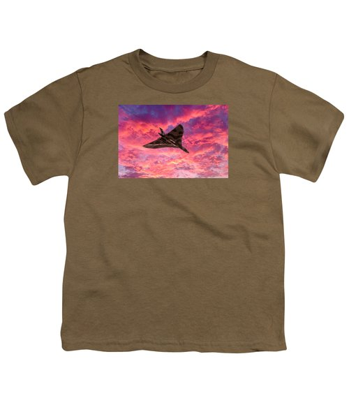 Going Out In A Blaze Of Glory Youth T-Shirt by Gary Eason