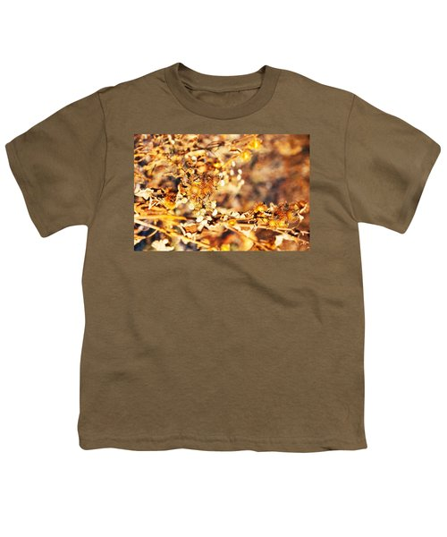 Gold Rush Youth T-Shirt by Jose Rojas