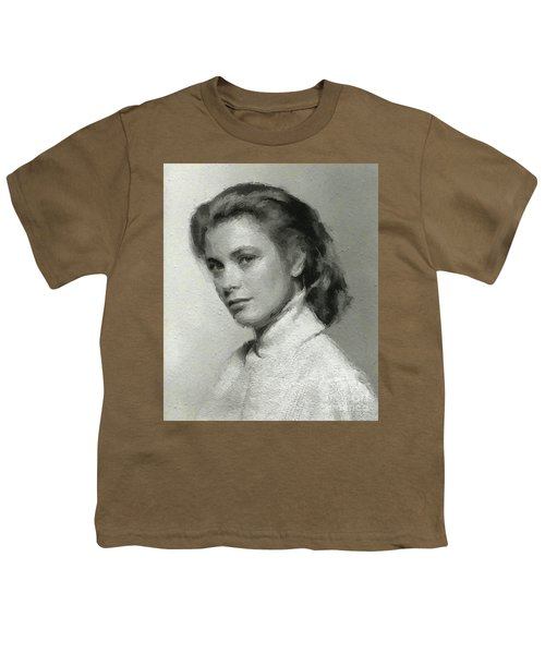 Grace Kelly, Vintage Actress Youth T-Shirt