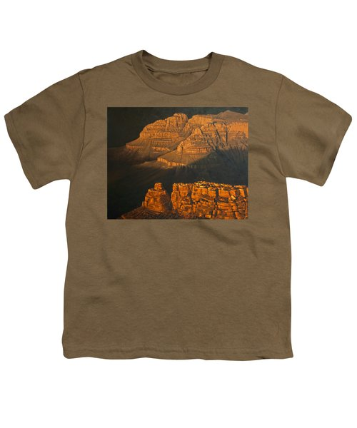 Grand Canyon Meditation Youth T-Shirt by Jim Thomas