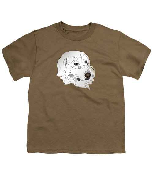 Great Pyrenees Dog Youth T-Shirt