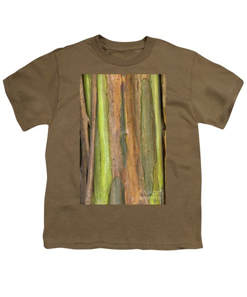 Youth T-Shirt featuring the photograph Green Bark 3 by Werner Padarin