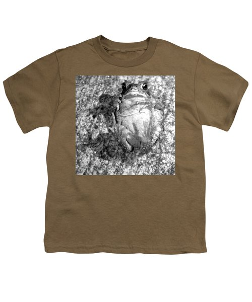 Gregoree The Stranded Frog Youth T-Shirt