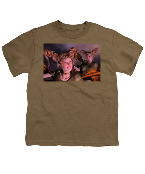 Here Comes Sunshine For Jerry  Youth T-Shirt