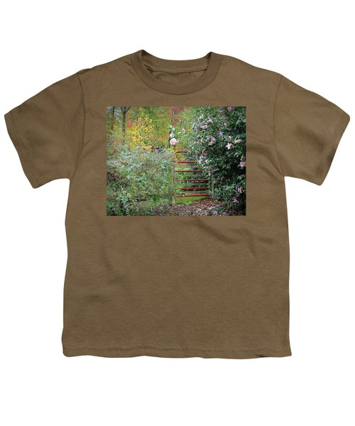 Hidden Gate Youth T-Shirt by Bellesouth Studio
