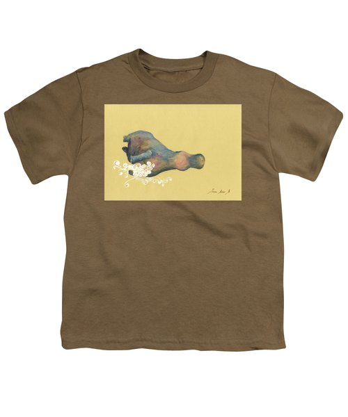 Hippo Swimming Youth T-Shirt