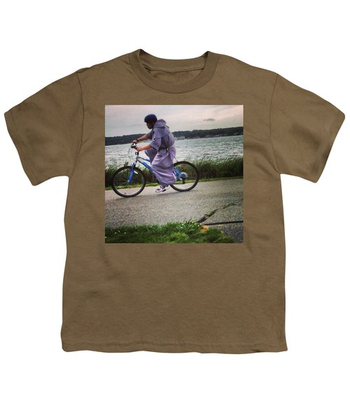 Holy Man Going For A Spin  Youth T-Shirt