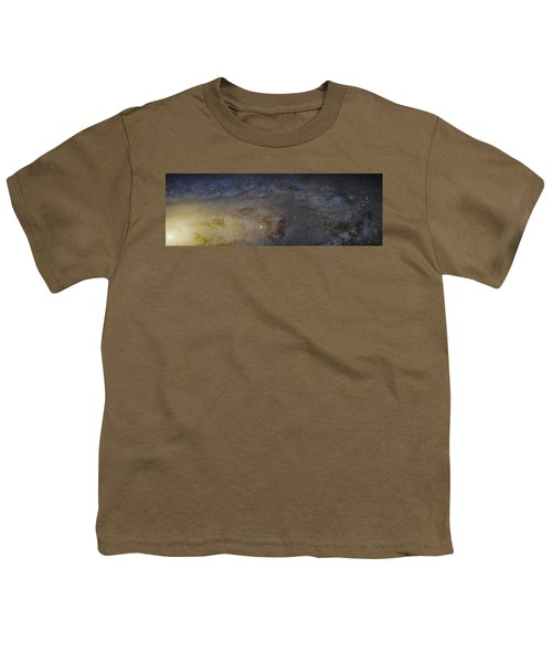 Youth T-Shirt featuring the photograph Hubble's High-definition Panoramic View Of The Andromeda Galaxy by Adam Romanowicz
