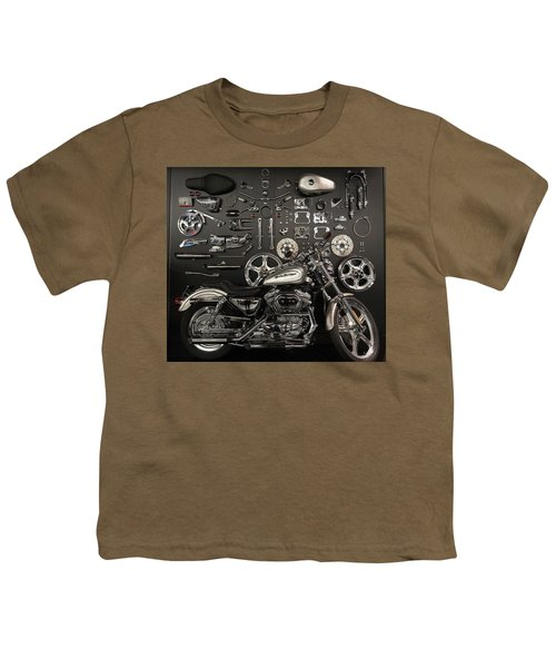 Youth T-Shirt featuring the photograph If Bling Is Your Thing by Randy Scherkenbach
