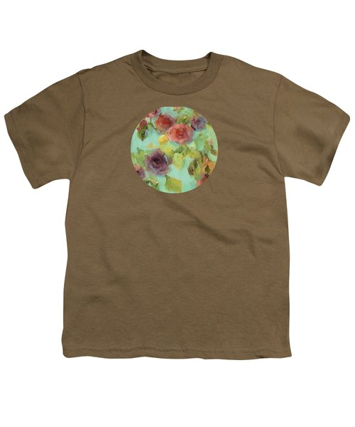 Impressionist Floral  Youth T-Shirt