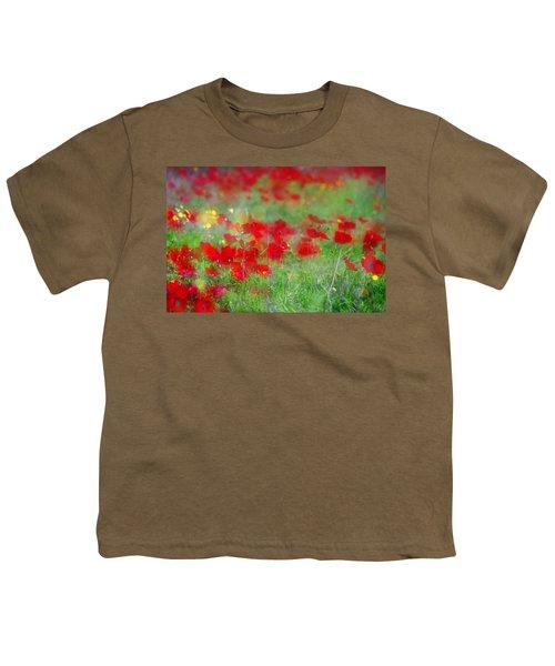 Impressionistic Blossom Near Shderot Youth T-Shirt
