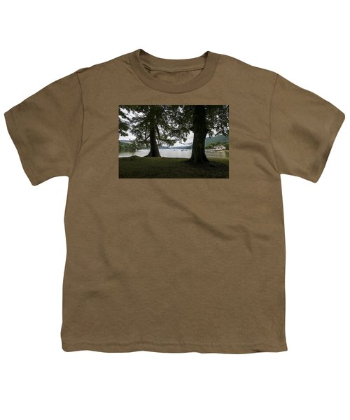 Youth T-Shirt featuring the photograph In Glencoe Uk by Dubi Roman
