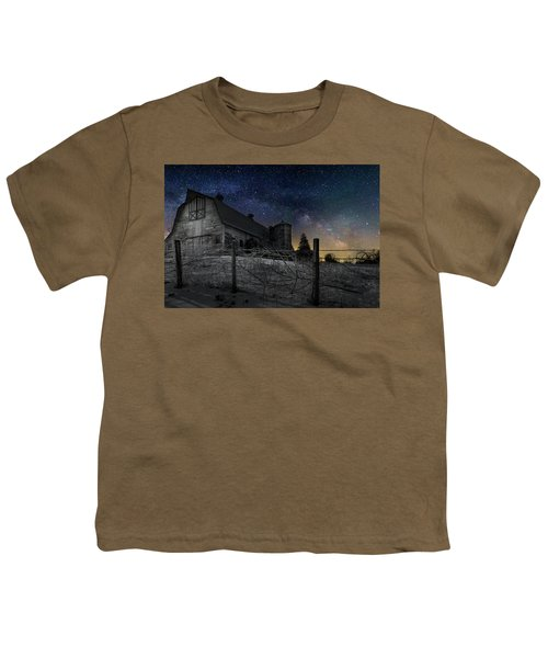 Youth T-Shirt featuring the photograph Interstellar Farm by Bill Wakeley