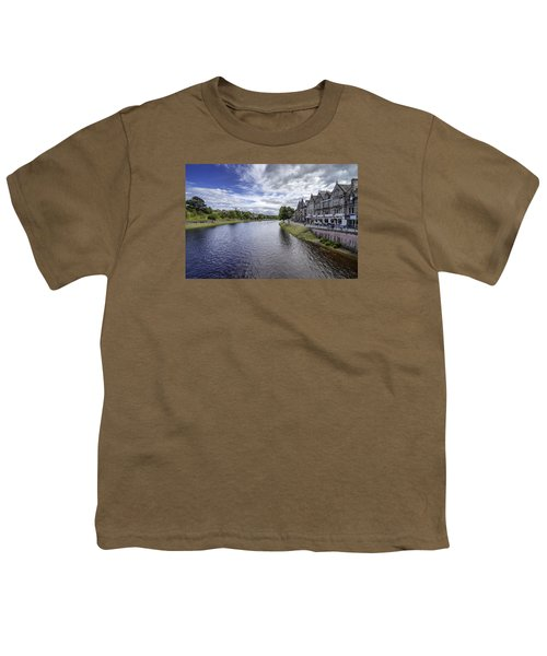 Youth T-Shirt featuring the photograph Inverness by Jeremy Lavender Photography