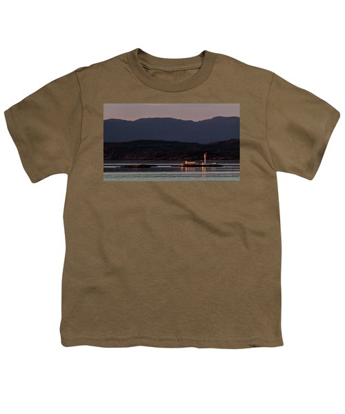 Isolated Lighthouse Youth T-Shirt