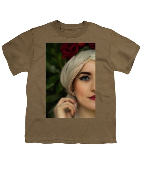 Jade Close Crop Youth T-Shirt