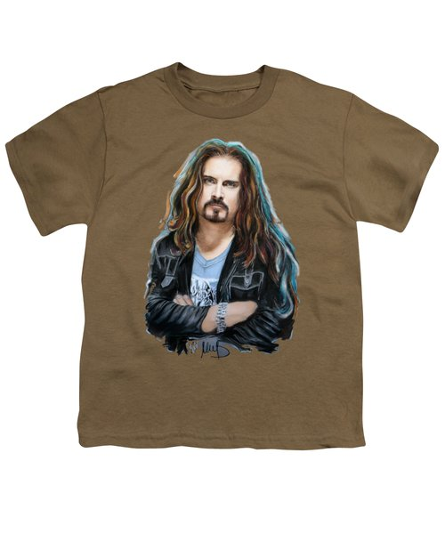 James Labrie Youth T-Shirt by Melanie D