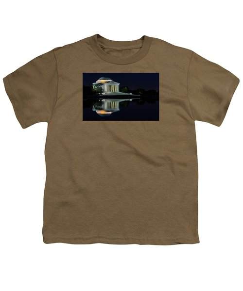 The Jefferson At Night Youth T-Shirt