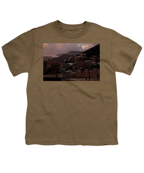 Jerome On The Edge Of Sunrise Youth T-Shirt